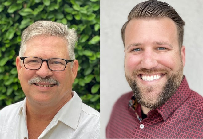 Jimmy Burry and Alan Reisman face each other for the District 1 seat on the Leesburg Commission.