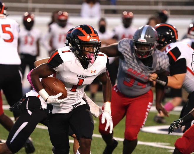 Spruce Creek will move into Class 7A for the 2021 football season and should be a district championship contender, grouped with University, Lake Howell, Winter Springs and Lyman.