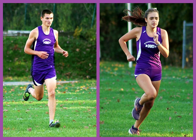 Senior Kyle Kellstrom and sophomore Morgan Anderson were Paupack's best runners during this week's Lackawanna League home race against North Pocono.
