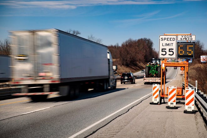 Drivers are encouraged to slow down and stow cellphones and other devices during Put the Brakes on Fatalities Day in Pennsylvania on Saturday.