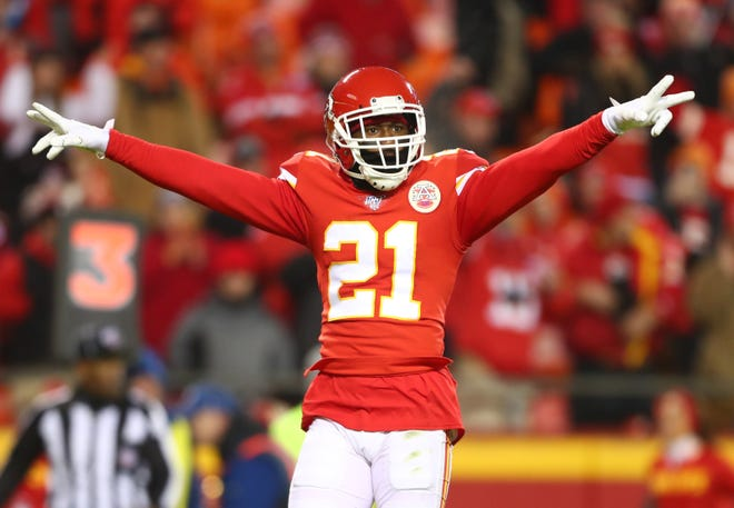 Cornerback Bashaud Breeland returns to the Chiefs this week after serving a four-game suspension.