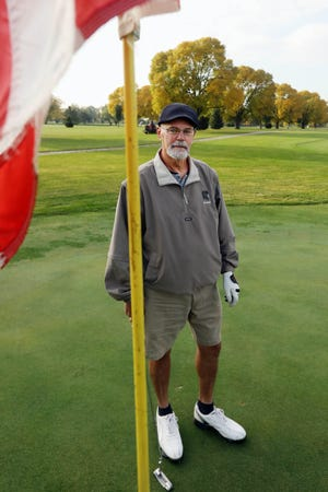 Golfer Gus Furnald is shown Friday, Oct. 9, at Flint Hills Golf Course. Furnald had two hole-in-ones at the course this year.