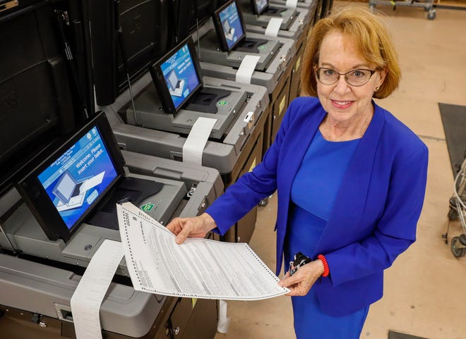 """Polk County Supervisor of Elections Lori Edwards: """"I've been in this business 20 years, and you know what? Every election there's losers, and it's sometimes hard to swallow."""""""