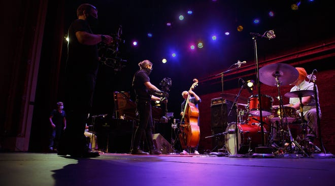Pellissippi State faculty and students bring livestream viewers on stage with artists during Sites & Sounds from Big Ears at the historic Bijou Theatre.