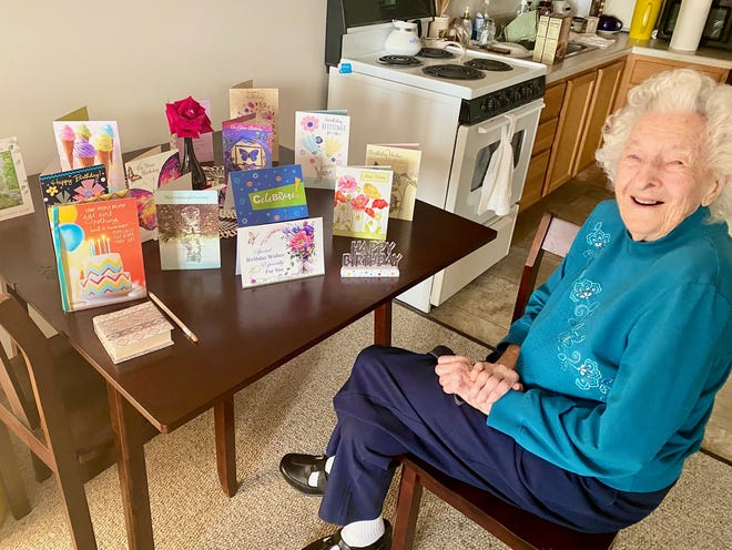 Treva Melton celebrated her 104th birthday on Monday, Oct. 5 at Spring Valley Retirement Community.