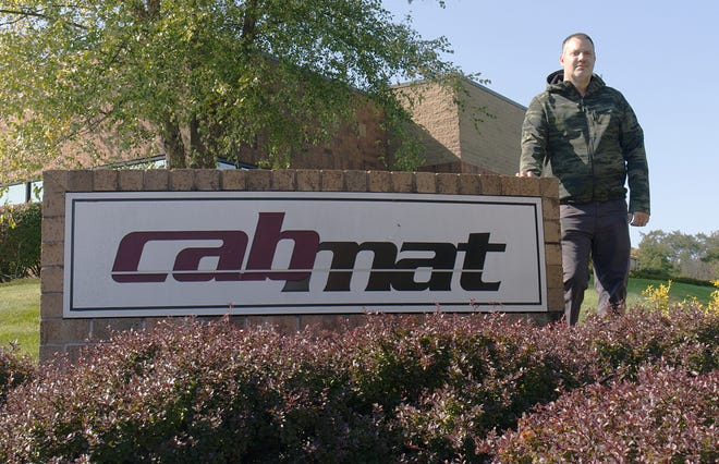 Cabmat Inc. Vice President Matt Lazinger said a diversified customer base has helped fuel the steady growth that has justified an addition to the company's Gentry Drive facility.