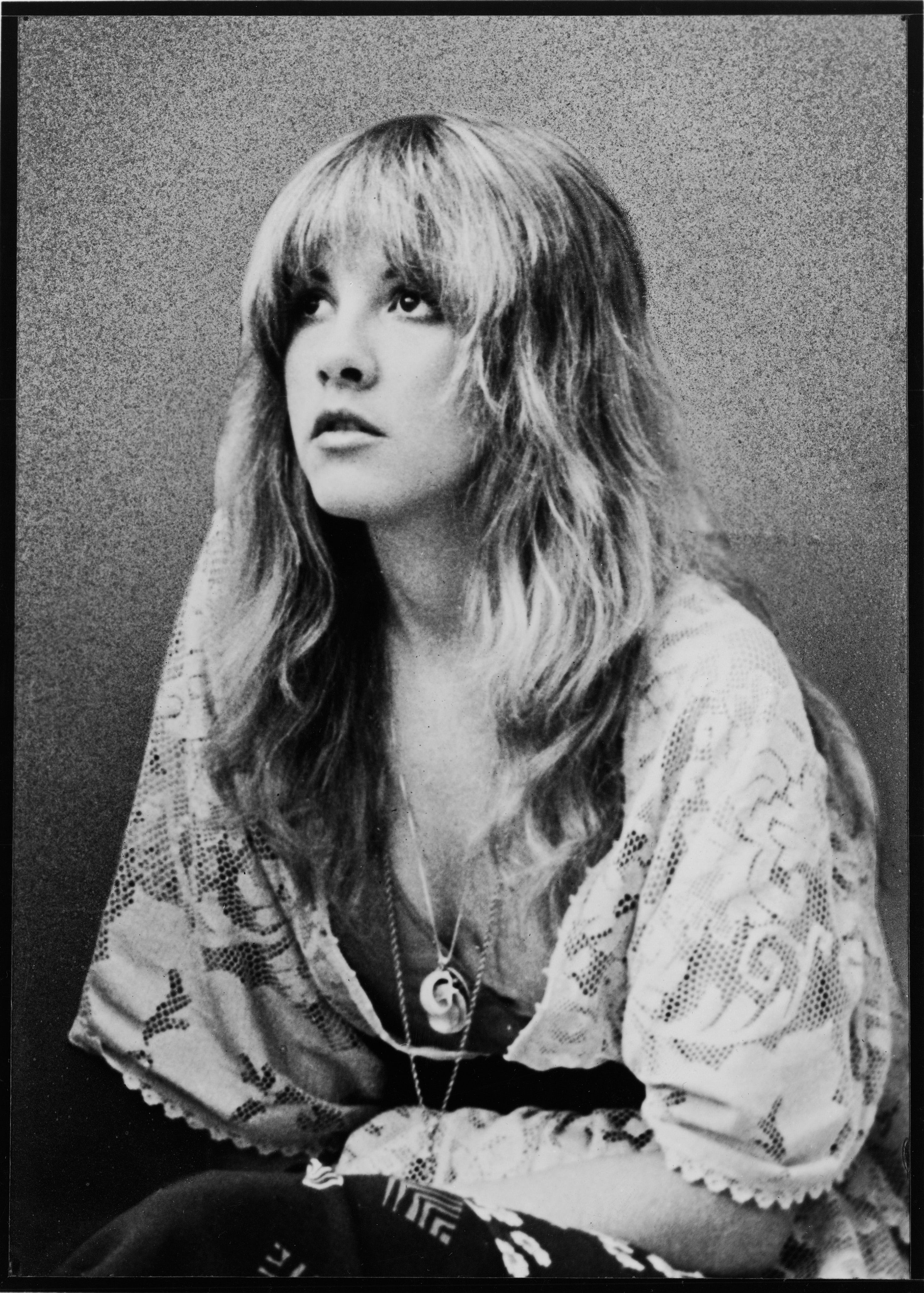 Singer Stevie Nicks in a promotional photo from the 1970s.