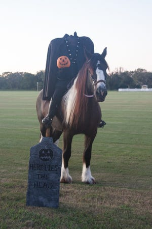 """The Headless Horseman is featured in the Players Centre's production of """"The Legend of Sleepy Hollow."""""""