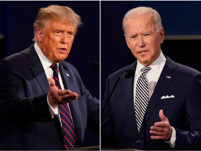 Trump, Biden make final pitches in Tampa Thursday as election nears