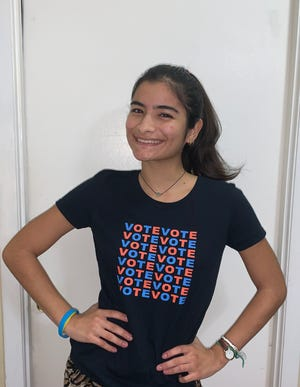 Leonela Tase-Sueiro has been a student ambassador for Sarasota's UnidosNow and is now a student at George Washington University.  She wants to pursue a degree in communications.