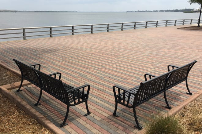 Easy access to Bradenton's scenic bayfront park Riverwalk is one of the reasons respondents in a Knight Foundation study find the city attractive.