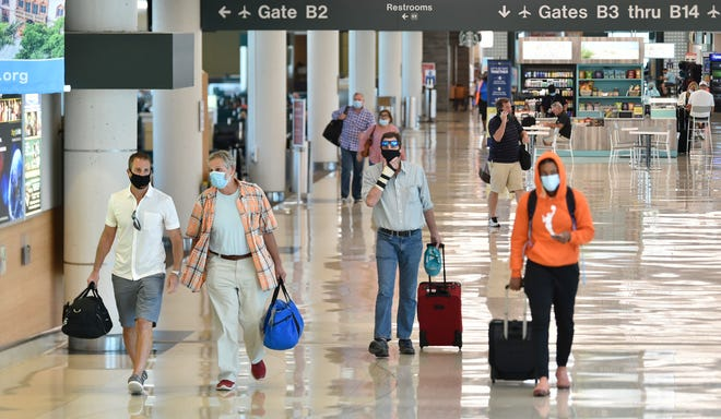 Passenger traffic at Sarasota-Bradenton Airport is down 35.5% overall this year compared to 2019.