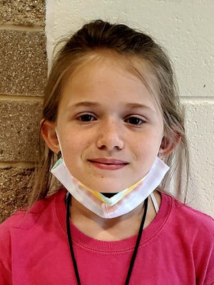 Abi Pickett of Cape Fear Elementary is Pender County's student of the week.