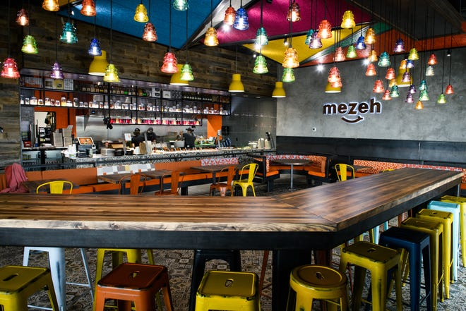 Mezeh Mediterranean Grill at 2770 Freedom Parkway Drive in Fayetteville.