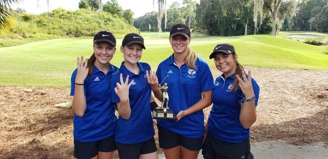 The Keystone Heights girls golf team again wins the Jill Darr Memorial.