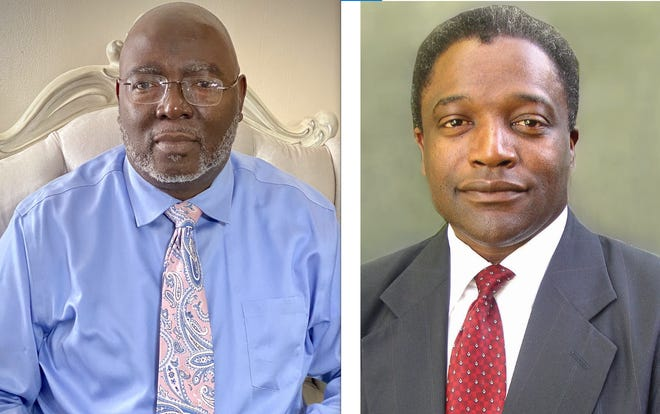 Darryl McKinstry, left, has announced a write-in campaign to unseat longtime District 4 Tuscaloosa County Commissioner Reginald Murray.