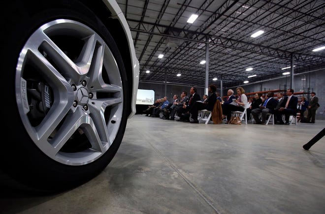Mercedes-Benz U.S. International has begun work on a $53.6 million expansion to its manufacturing operations in Vance.