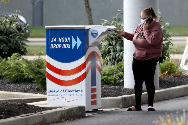 Ohio Republicans pushed back on release of a draft election reform bill that would eliminate ballot drop boxes except in states of emergency and require an extra form of ID when using a Social Security number as ID to vote absentee, in-person.