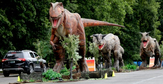 Jurassic Quest drew more than 120,000 in August to DTE Energy Music Theatre.