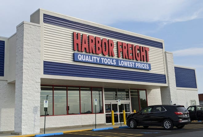 The newly opened Harbor Freight 2136 Enterprise Drive, takes over for the former Staples in Fremont.