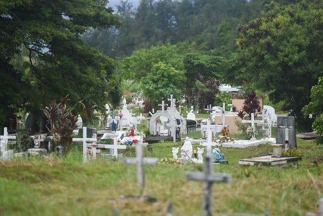 Vicente A. Limtiaco Memorial Cemetery on Nimitz Hill, Oct. 9, 2020.