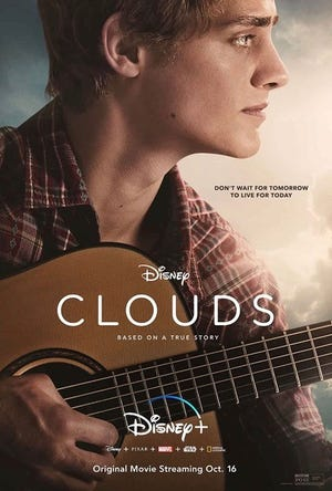 """Clouds"" is available on Disney+ beginning Oct. 16."