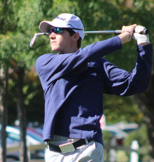 Galion's Matt McMullen shot an 80 on the first day of the Division II state golf tournament, which was the lowest score by any of the Tigers.