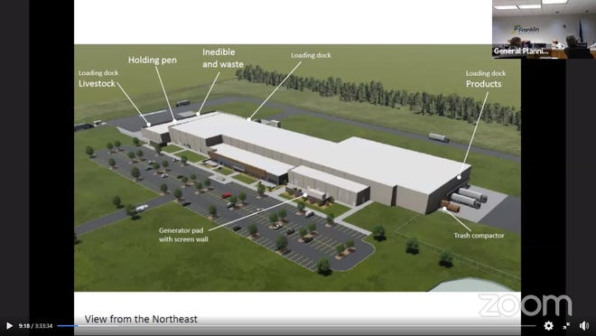 Strauss Brands, LLC is proposing a new 152,035 square-foot facility on the southwest corner of West Loomis Road and the new Monarch Drive.