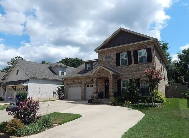 A home located at 1676 Pebble Creek Drive in Prattville is for sale for $389,900. An open house will be held at the property on Oct. 18 from 2 p.m. to 4 p.m. The stunning four bedroom and two and a half bath home includes more than 3,300 square feet of living space within two stories.
