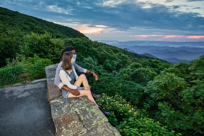Asheville is encouraging visitors to observe COVID-19 precautions and take advantage of the area's opportunities for socially distanced activities in the outdoors.