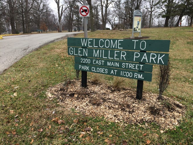 Glen Miller Park will be closed Oct. 13-18 for the downing of dead trees that will be removed by residents who receive permits.