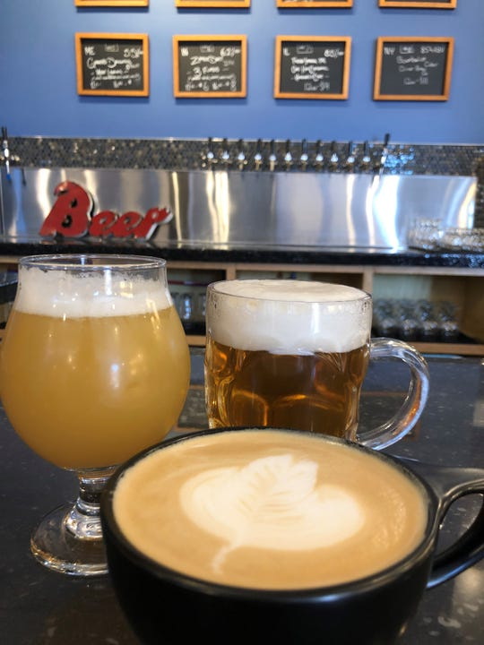 Beer and coffee are on the menu at the new Climbing Wolf in Dobbs Ferry.
