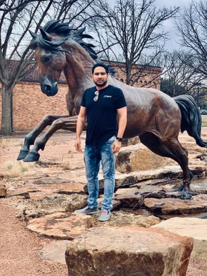 MSU Texas MBA student Mahesh Dondeti was awarded an Arbor Creek Scholarship. He will receive one-year of free rent in an Arbor Creek apartment as he completes his masters degree.