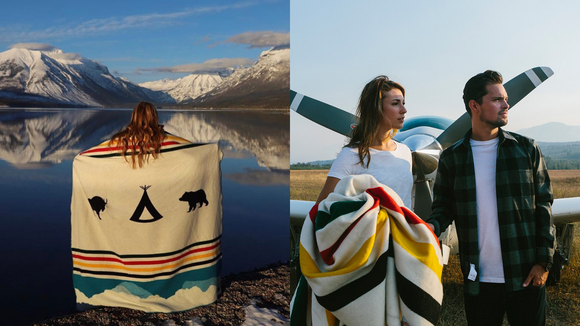 The best gifts for travelers: Pendleton wool blanket