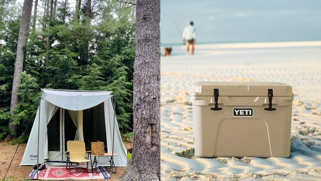 The best gifts for travelers, including canvas tent, Away suitcase, YETI cooler, and more.
