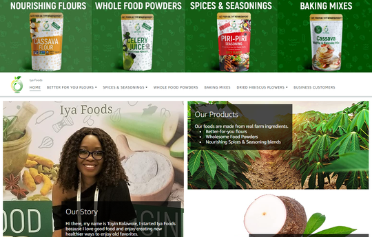 Toyin Kolawole, an entrepreneur who immigrated to the U.S. from Nigeria about 20 years ago, has a digital health food store on Amazon.