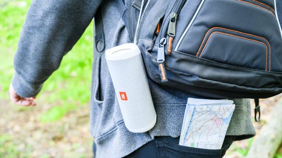 We named the JBL Flip 5 as our favorite portable Bluetooth speaker.