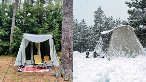 The best gifts for travelers: Kodiak 6-Person Canvas Tent