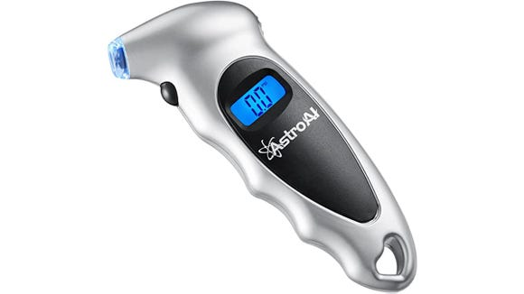 This digital tire gage is a must-have for drivers.