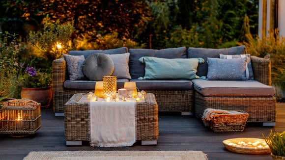 From fire pits to tabletop linens, Wayfair has got you covered.