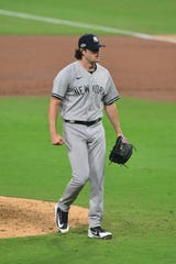 Gerrit Cole will start Game 5 of the ALDS for the Yankees.