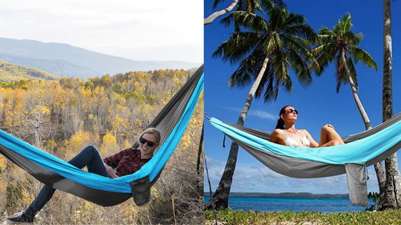 The best gifts for travelers: Kootek Camping Hammock