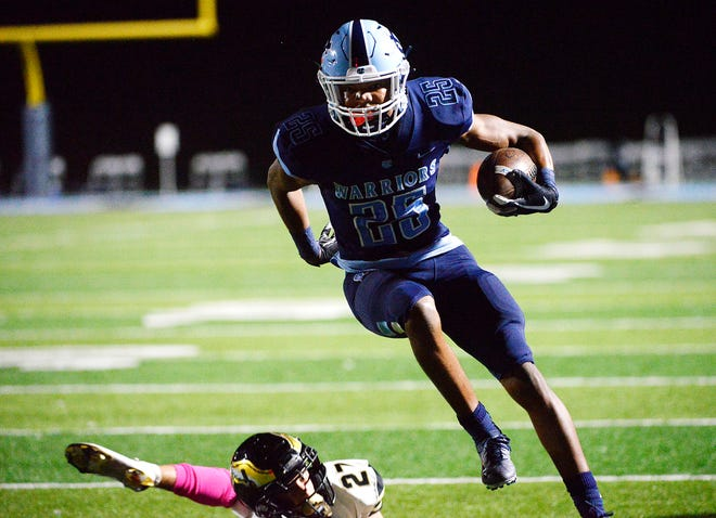 Stephon Hall and his Central Valley teammates earned the No. 1 seed in 3A and will host a WPIAL quarterfinal game Friday against East Allegheny.