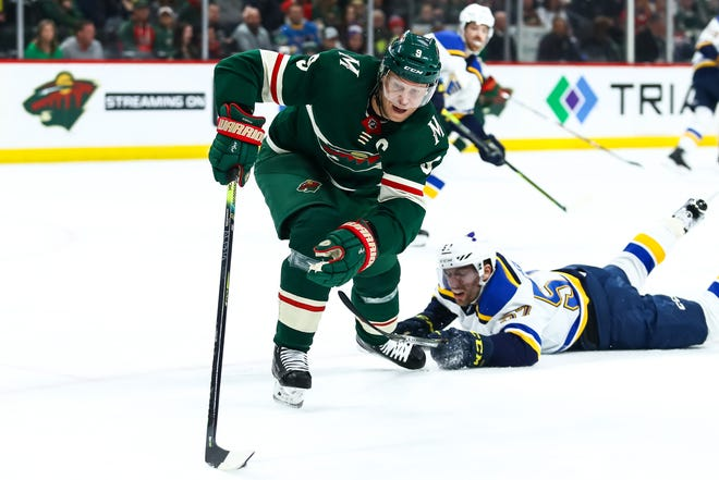 By adding Mikko Koivu (9), who has played his entire 15-year NHL career with the Minnesota Wild, the Blue Jackets added a center who is strong in the face-off circle and a respected leader in the locker room. David Berding/USA TODAY Sports