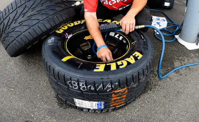 Grooved tires could make a rare NASCAR appearance for the race at Charlotte's Roval.