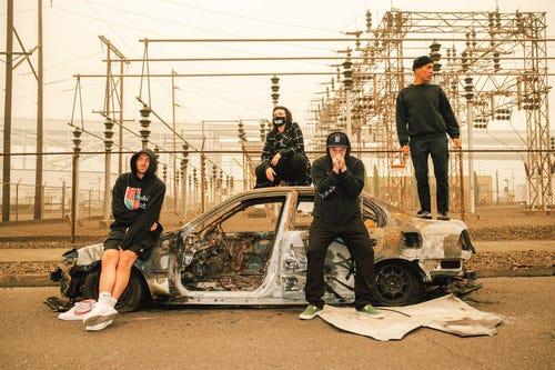 Soft Kill, a Portland post-punk act.