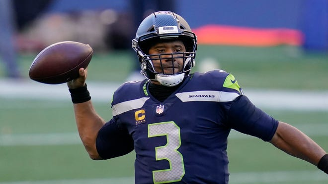 Russell Wilson has thrown 16 touchdowns passes and only two interceptions in leading the Seattle Seahawks to a 4-0 start.