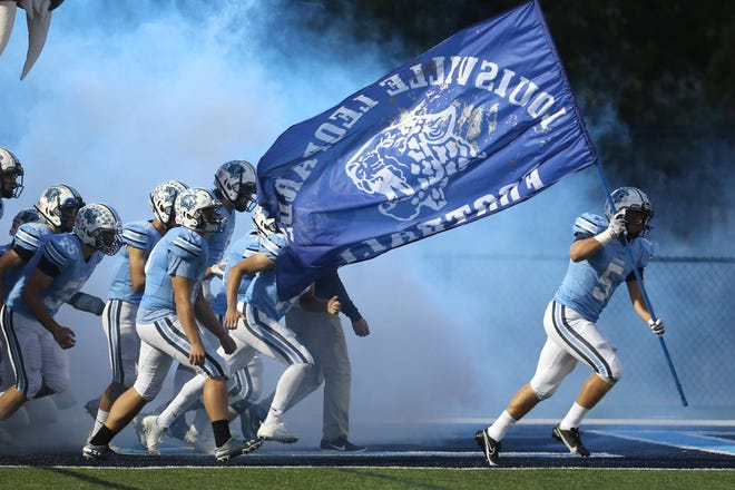 Notre Dame-Cathedral Latin at Louisville High School Football; First Round Playoff Game; Friday, Oct. 9, 2020.