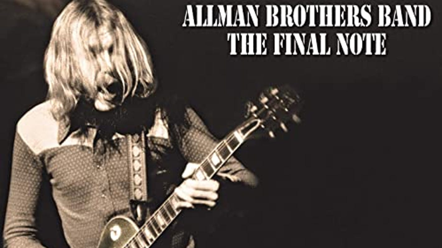 Allman Brothers Band's 'The Final Note' is Duane Allman's powerful farewell