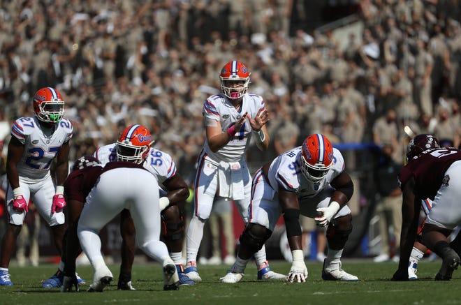 Quarterback Kyle Trask leads the Florida Gators.
